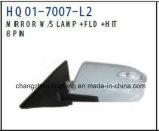 Retrovisor partes separadas automático encaixa para a Hyundai NF Sonata 2004 carro. #OEM: 87610-3K000/87620-3K000