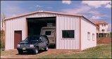 Almacén agrícola de la granja de la estructura de acero ligera y del marco porta (KXD-SSW102)