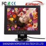 Monitor LCD de 10,4 pulgadas con resolución VGA DVI Entrada HDMI BNC