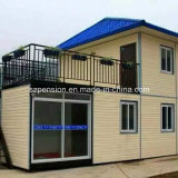 Una instalación rápida buenas vacaciones con prefabricados prefabricados Contenedor móvil/Casa/Chalet