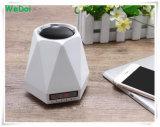 Altoparlante senza fili di Bluetooth della nuova sveglia multifunzionale con l'indicatore luminoso del LED (WY-SP03)