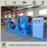 Machine ouverte de moulin de mélange en caoutchouc de structure compacte