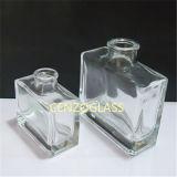 quadratischer Diffuser- (Zerstäuber)glasflasche des Aroma-50ml (ZB1186)