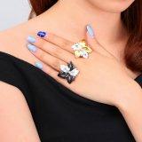 最上質の2音色の中国の製造業者の方法宝石類の宝石類のリング