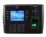 Controle de acesso da impressão digital dos multimédios com GPRS (TFT700/GPRS)