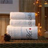 Baumwollweißes Luxuxtuch-Hotel-Bad-Tuch 100%