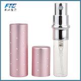 mini Portable 5ml para la botella de perfume del metal de las hojas de ruta (traveler)