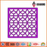 Ideabond CNC geschnitzte Aluminiumzusammensetzung für Innen- oder Outodoor Verbrauch