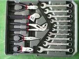 Powertec 186PCS Handtool Kit mit Aluminium Fall