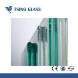 het Gehard glas van 8mm voor de Bovenkant van de Lijst Balstrade/het Glas van de Deur/van de Plank