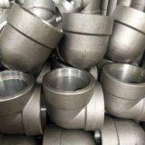 Aço Carbono padrão ANSI A105 Cotovelo forjadas