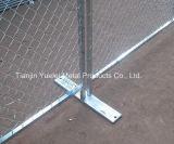El edificio de la seguridad soldó el panel soldado cubierto Panel/PVC temporal de la cerca del acoplamiento de alambre de acero para cercar/los paneles galvanizados del ganado para la venta