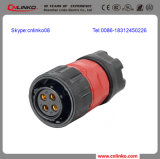 Gold Plated를 가진 Seller 최고 Electrical Pin Connector/IP67 Cable Connector