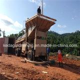 最もよい価格移動式スクリーンの金鉱山のトロンメルのプラント