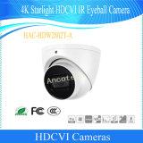 De Camera van kabeltelevisie van de Veiligheid van de Oogappel van Hdcvi IRL van het Sterrelicht van Dahua 4K (hac-hdw2802t-a)