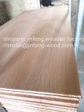 Folheado de madeira de carvalho vermelho para mobiliário de MDF