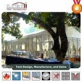 tenda di larghezza di 15m grande con il sistema di vetro del muro per capienza della gente di approvvigionamento 200
