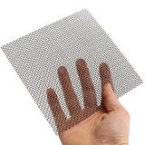 4 x 4 polegadas 25 50 73 tela de engranzamento da extração do aço inoxidável de 75 mícrons