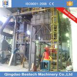 Proceso de la arena de resina de fundición No-Baked completa línea de producción
