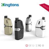 Kingtons 2017 가장 새로운 휴대용 붙박이 2000mAh 큰 건전지 E 담배