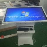 """42 """" monitor de ecrã táctil LCD de conveniência para a verificação de mensagens"""