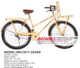 '' erwachsene Stadt 26 Retro Commut Fahrrad mit vorderer Zahnstange