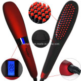 2016 Novo Item Nasv-300 Ceramic Heat Ionic Technology Hair Iron Beauty Star Aion Hair Straightening Brush with LCD Display