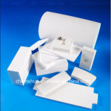 Mattonelle di ceramica del rivestimento dell'allumina resistente all'uso come materiali resistenti dell'abrasione