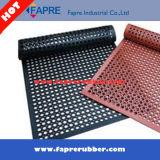 Anti-Fatigue резиновый циновка настила/Non циновка выскальзования резиновый с отверстиями