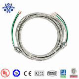Полихлорвиниловая оболочка кабеля Mc кабель с Inners Xhhw-2/одна зеленая изолированный/оголенные провода заземления, Armoring кабель