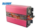 Suoer Solar Power Inverter 1000W Digital Display Power Inverter 12V a 220V Onda di seno modificata Power Inverter per uso domestico con CE & RoHS (HAA-1000A)