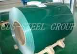 Pulsa&filmado&PPGI mate/hojas de acero pintado en color de la bobina de acero recubierto de