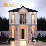SGS中国の安いうまく設計されたプレハブの家の別荘