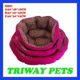 Bâtis bon marché d'animal familier de chat de crabot de confort (WY161063-3A/C)