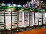 1216 litros refrigerador de exibição para bebidas/Dairy/frutas