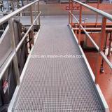 Schokbestendige Grating van de Vloer van de Glasvezel FRP GRP