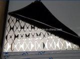 レストランDecoのための着色されたチタニウムの織り目加工のステンレス鋼折るスクリーンの区分