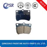 Zapatas de freno del coche de la venta de la fábrica de China D402
