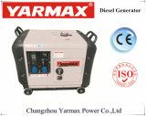 Alternateur réglé diesel Genset silencieux Ym9900t de groupe électrogène de Yarmax 6kVA 7kVA