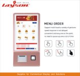 OEM 43/49/55/65inch Vloer die LCD Signage van de Vertoning de Digitale Kiosk van de Betaling van de Bankkaart van de Rekening van de Zelfbediening van de Kiosk van de Informatie van het Scherm van de Aanraking van de Reclame Interactieve bevindt zich