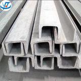 Corchete del canal U del acero inoxidable 316L de la estructura de edificio