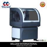 Acryl MiniCNC van de Desktop van de Machine van het Houtsnijwerk van het Metaal 3D Router (VCT- 6040C)