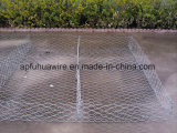 Cage de pierre de cadre de /Gabion de cadre de Gabions/panier enduits en plastique de Gabion