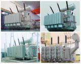 Alta tensão 35 ~ 110kv Transmissão de energia / Transformador de distribuição Transformador de forno descontínuo / 110kv Transformador de energia de regulação de tensão de energia Transformador de energia imerso