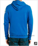 OEM de Zip Logotipo Bordado Blusa com capuz Cardigin homens Camisa de Desgaste de desporto