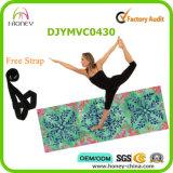"""De de vouwbare Mat en Handdoek van de Yoga bij 1/8 """" (3mm) dik"""