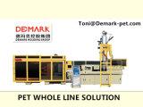 Demark Hochgeschwindigkeitshaustier-Vorformling-Einspritzung-System mit abkühlendem Roboter 72cavities bis zu 50g