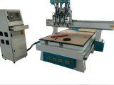 Double chefs CNC routeur avec 1318 Table de travail du bois pour la gravure de la publicité