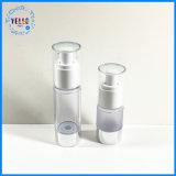 50ml de plastic Fles Zonder lucht van het Huisdier van de Pomp van de Nevel voor Kosmetische Verpakking