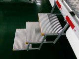 TUV Ce Aluminum Manual Folding Step Ladder Stool para ônibus Taxi School Bus e Van